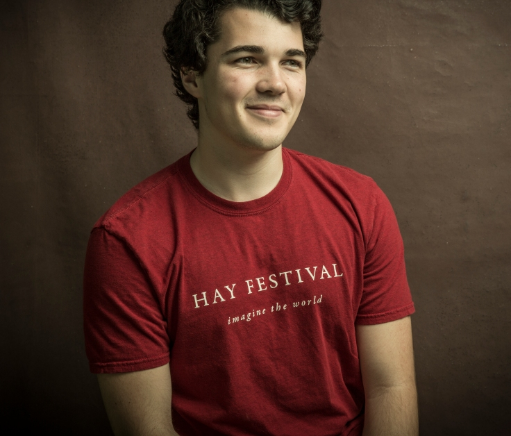 Isac Florence at the Hay Festival 2017